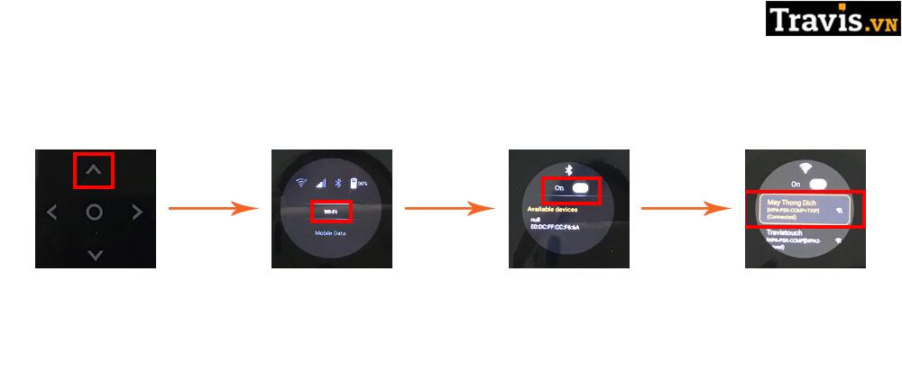 Cách kết nối Wi-Fi cho thiết bị phiên dịch Travis One