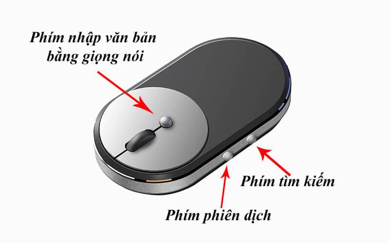 thiết kế chuột phiên dịch