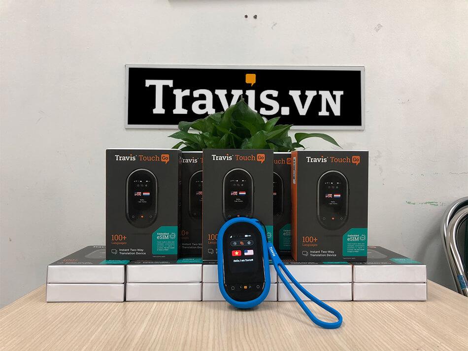 Lô hàng máy phiên dịch Travis Go mới nhất của Travis.vn